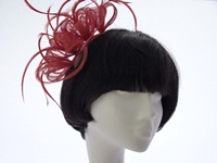 Events fascinator Salmon Pink